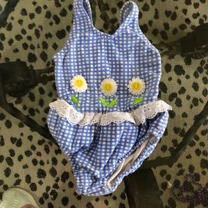 Other - Baby one piece swimsuit. Vintage